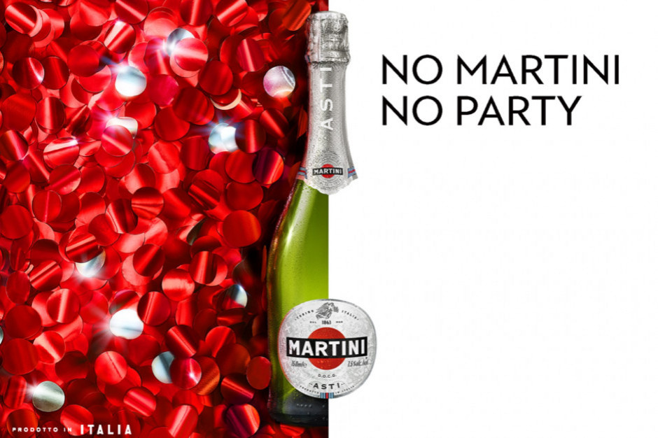 """Wystartowała najnowsza kampania Martini pod hasłem """"No Martini No Party"""""""
