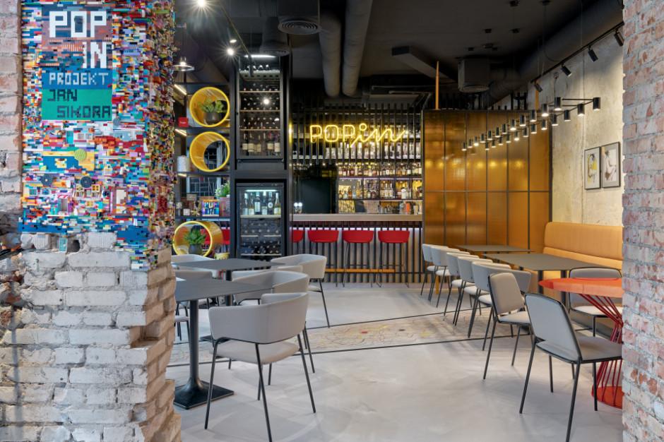 """Klocki Lego na ścianie i """"Pollock"""" na posadzce - nowa restauracja w Gdyni"""