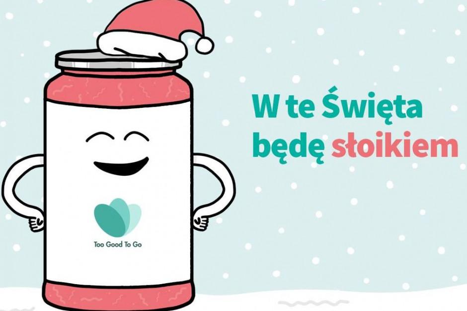 """""""W te Święta będę słoikiem"""" - wspólna akcja twórców Too Good To Go i influencerów zero waste"""