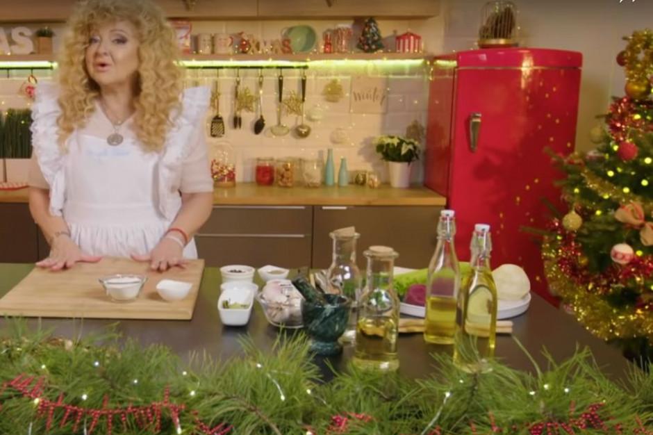 Magda Gessler ma kanał na YouTube ze świątecznymi przepisami