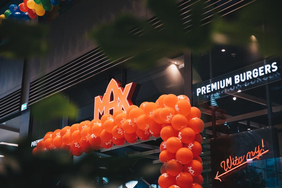 MAX Premium Burgers otworzy lokal w Złotych Tarasach!