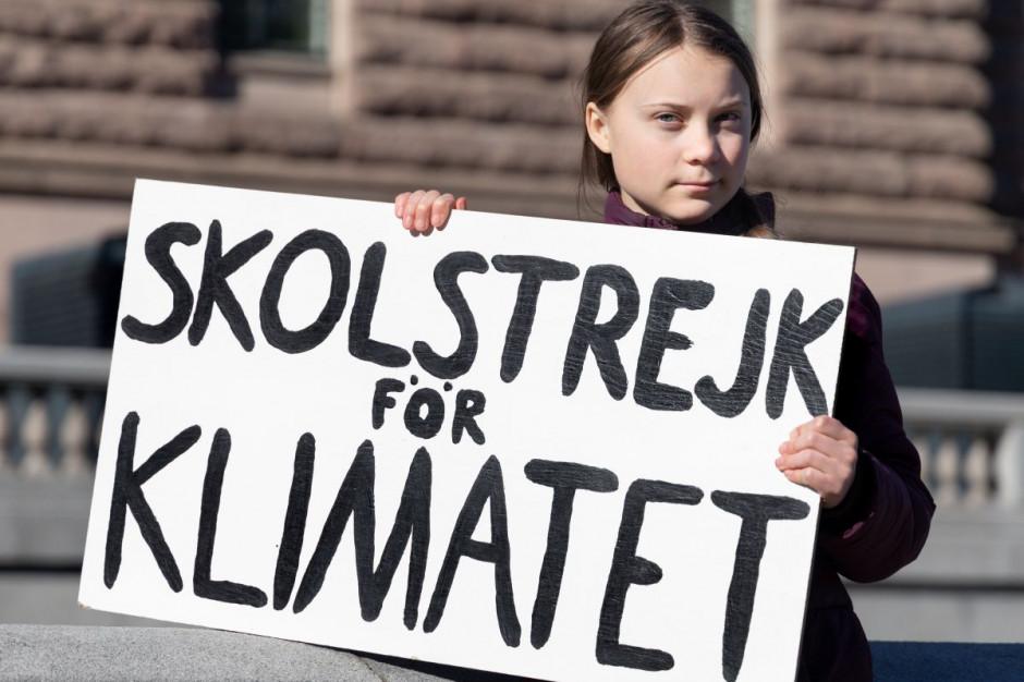 Greta Thunberg odwiedziła wegańską restaurację w Gdańsku