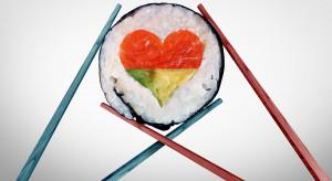 Walentynkowa kolacja - najczęściej to kuchnia francuska, włoska lub sushi
