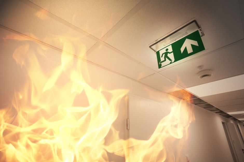 Pożar w hotelu Focus Premium Gdańsk