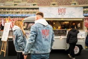 Charytatywny food truck Frosty na Narodowym