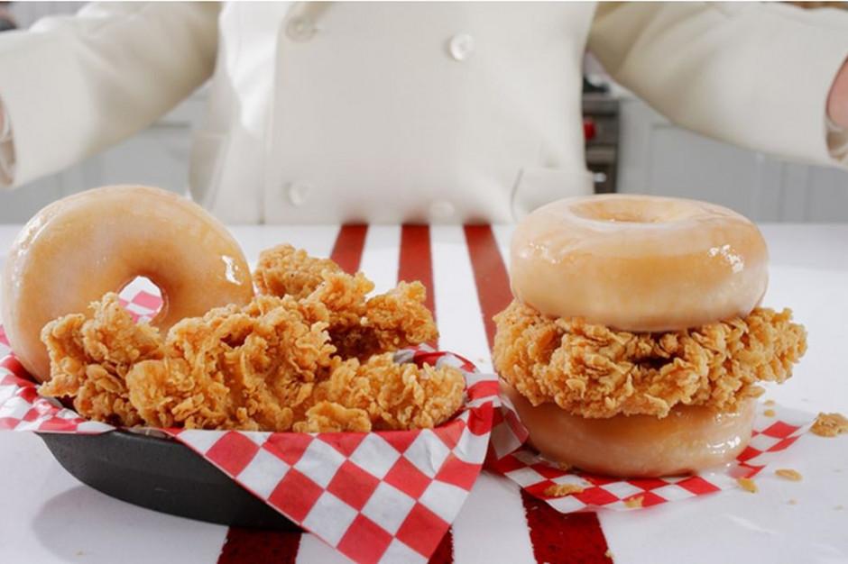 KFC sprzedaje pączki z kurczakiem