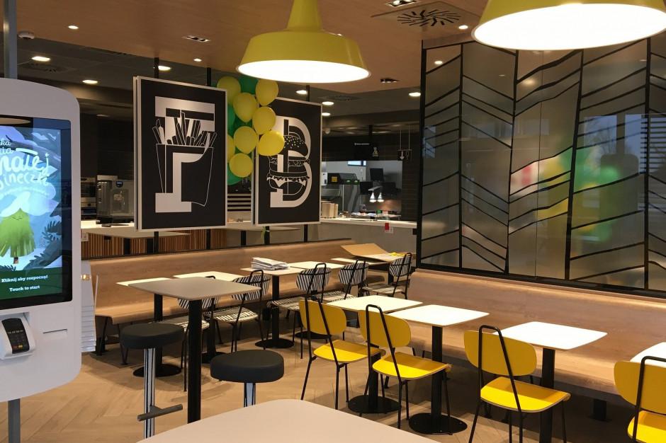 McDonald's wprowadza dozowniki z płynem dezynfekcyjnym