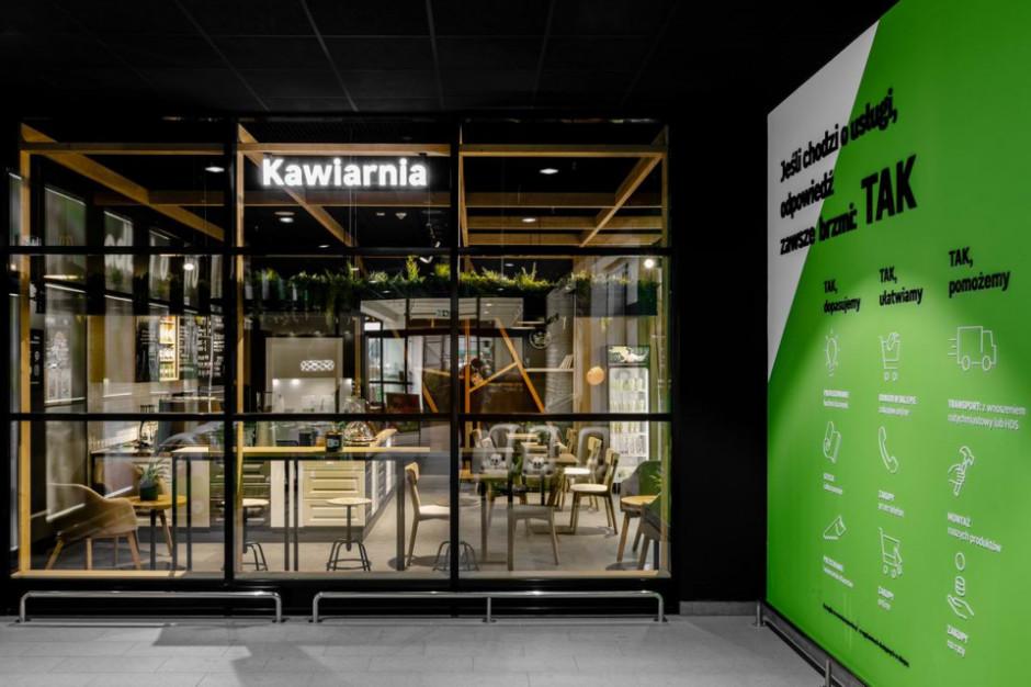 W sklepie budowlanym powstała kawiarnia