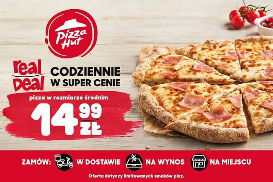 Pizza Hut wystartowała z nową promocją Real Deal