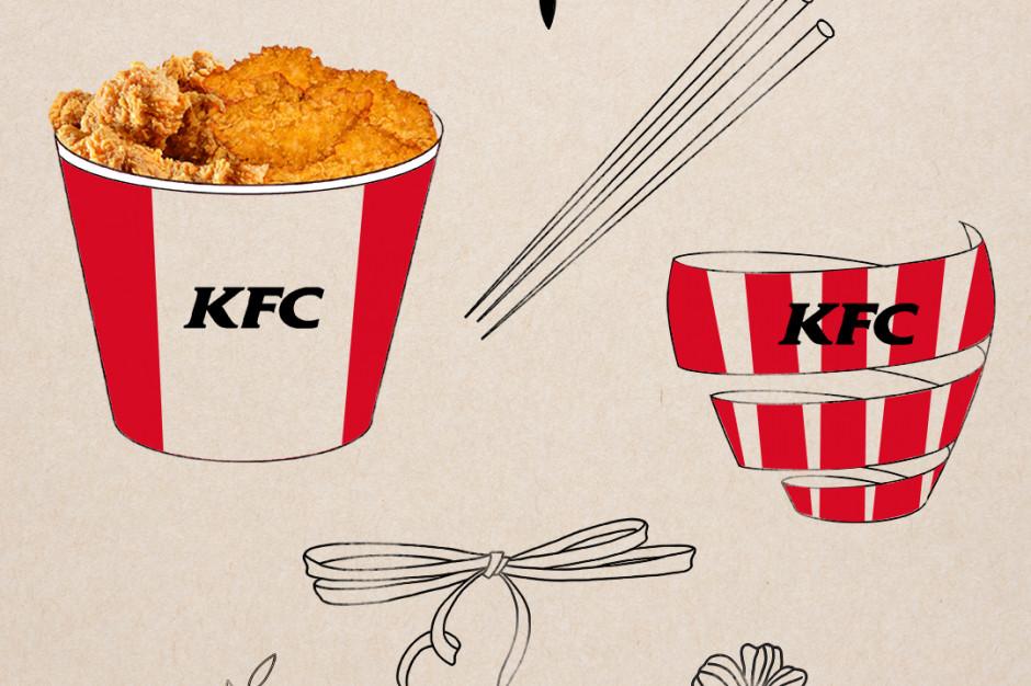 KFC bukietem ze stripsów celebrowało Dzień Kobiet