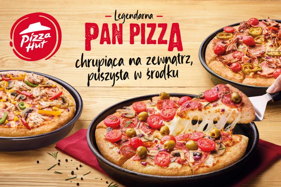 Pizza Hut rusza z promocją z okazji 40. urodzin PAN PIZZY