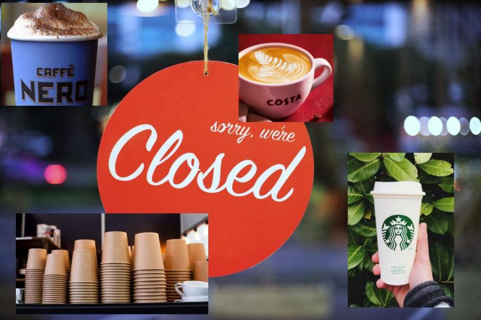Kawiarnie nieczynne do odwołania. Starbucks, Costa Coffee i Green Caffe Nero wydają oświadczenia