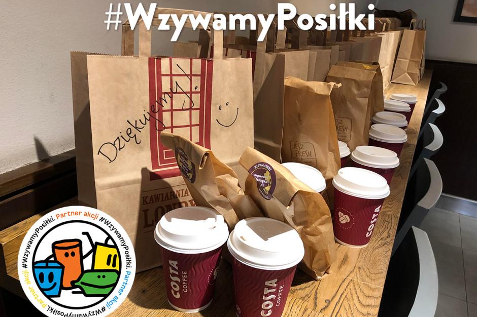 Costa Coffee dołącza do akcji #WzywamyPosiłki
