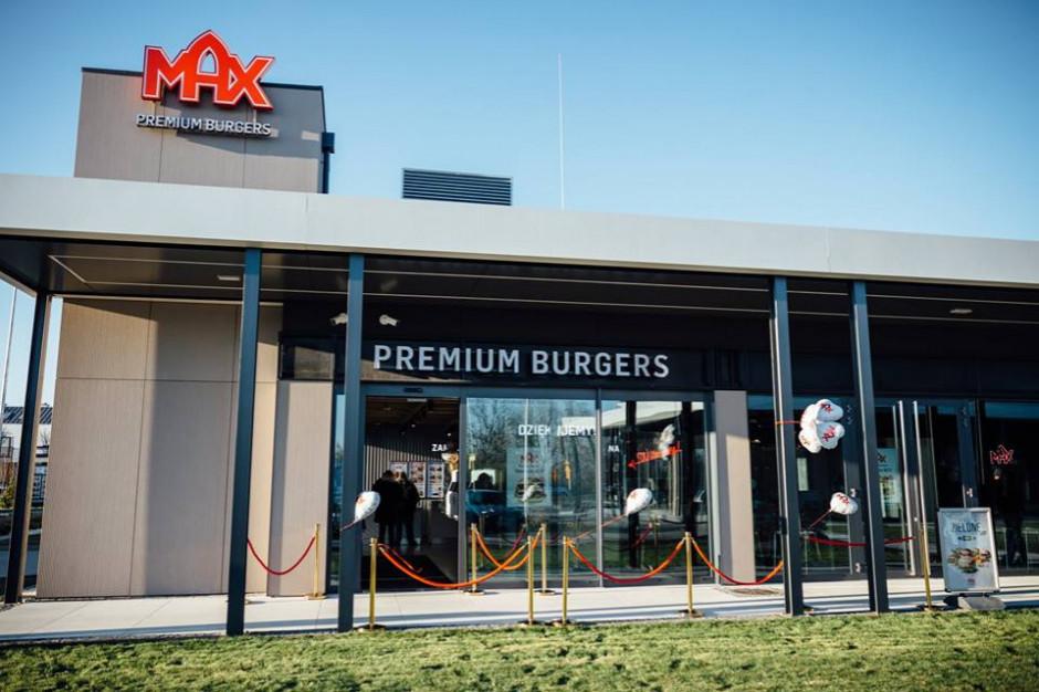 MAX Premium Burgers: Średnia wartość zamówienia w dostawie jest wyraźnie wyższa niż przy zakupie w lokalu
