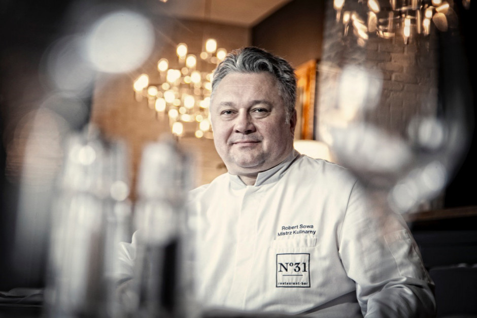 Robert Sowa: Dań w stylu fine dining nie da się spakować do pudełka