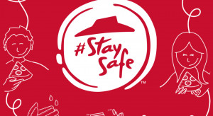#StaySafe w nowym logo Pizza Hut
