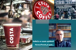 Costa Coffee: Naszym celem jest utrzymanie miejsc pracy przez cały kryzys (wideo)