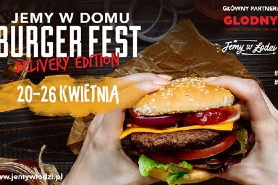 Festiwal burgerów w czasach pandemii? W Łodzi wystatuje Jemy w Domu Burger Fest