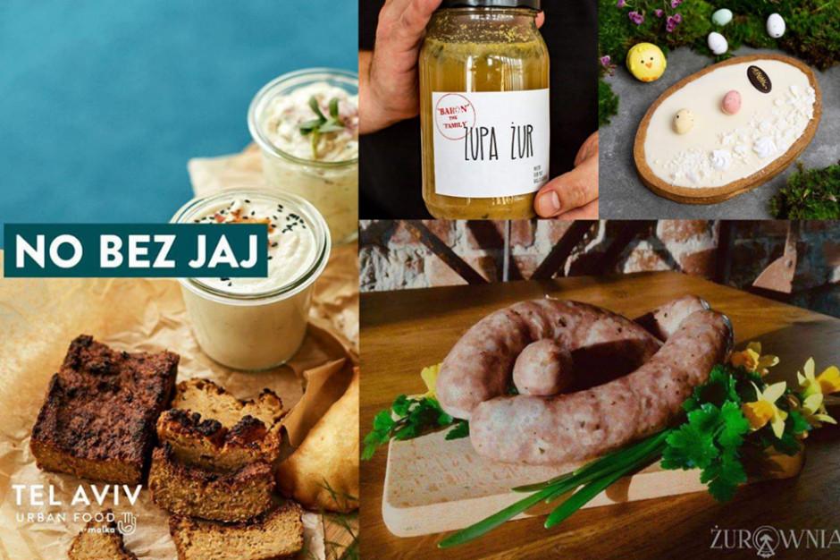 Wielkanoc: Restauratorzy i cukiernie sprzedają online
