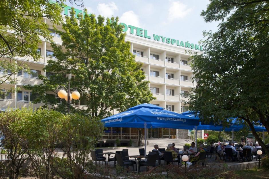 Krakowski Hotel Wyspiański przekształcony w izolatorium
