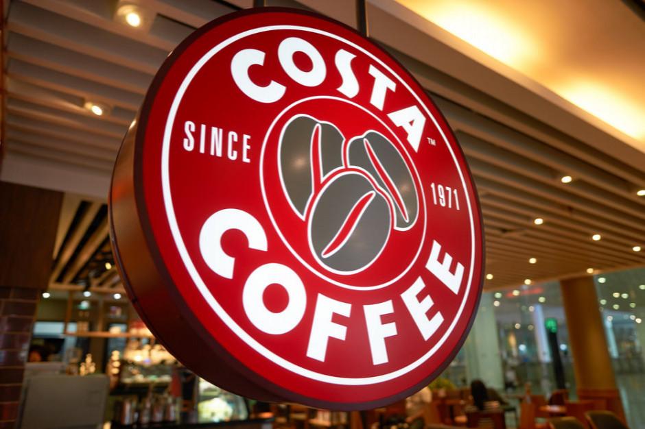 Costa Coffee: sprzedaż na wynos uruchomiona w 40 lokalach