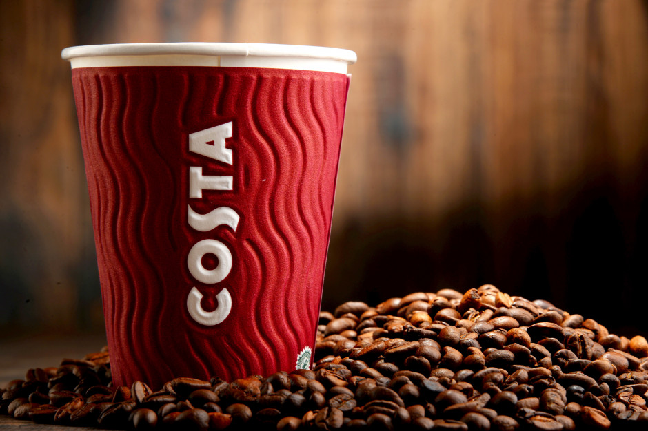 Costa Coffee: 45 kawiarni oferuje sprzedaż na wynos