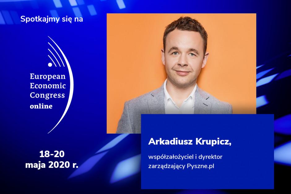 Arkadiusz Krupicz, Pyszne.pl, prelegentem EEC Online!