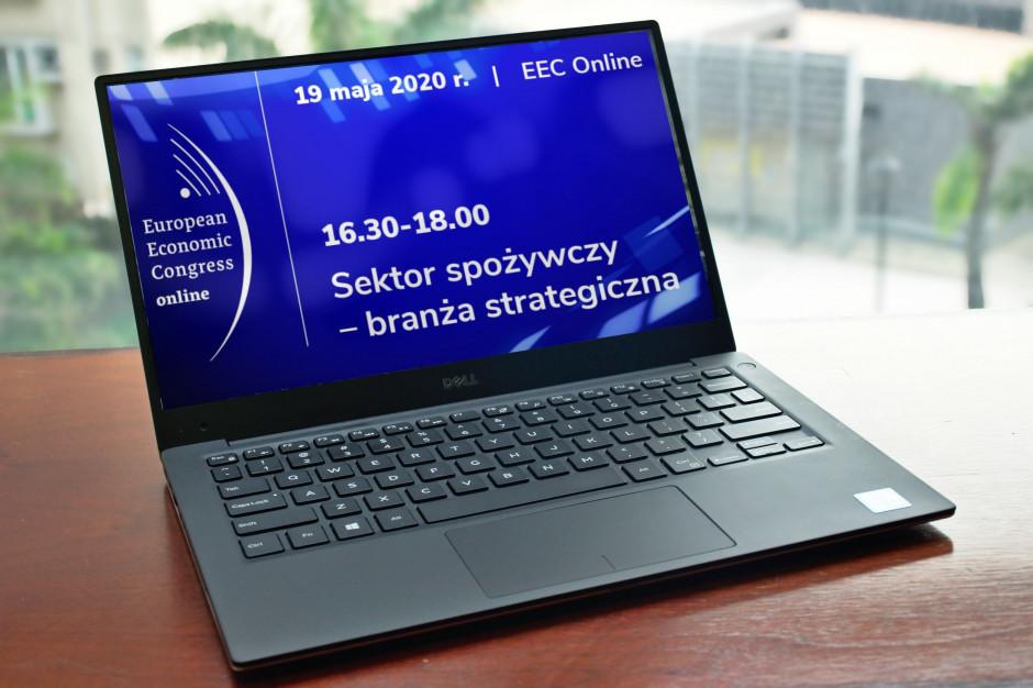 EEC Online: Sektor spożywczy – branża strategiczna. Weź udział w czacie i zadawaj pytania!