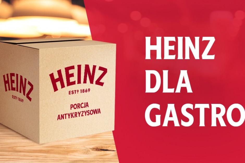 Heinz wspiera branżę gastronomiczną, przekazując 50 tys. sztuk swoich produktów