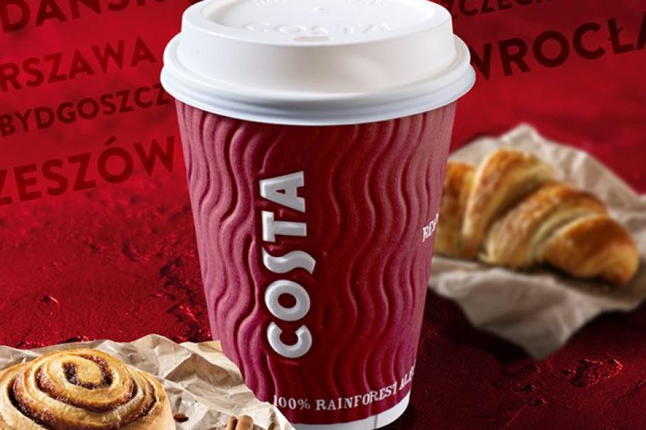 Gordon Mowat nowym prezesem Costa Coffee w Polsce