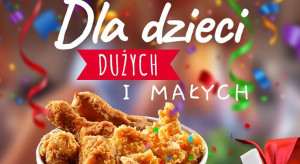 KFC z prezentami na Dzień Dziecka