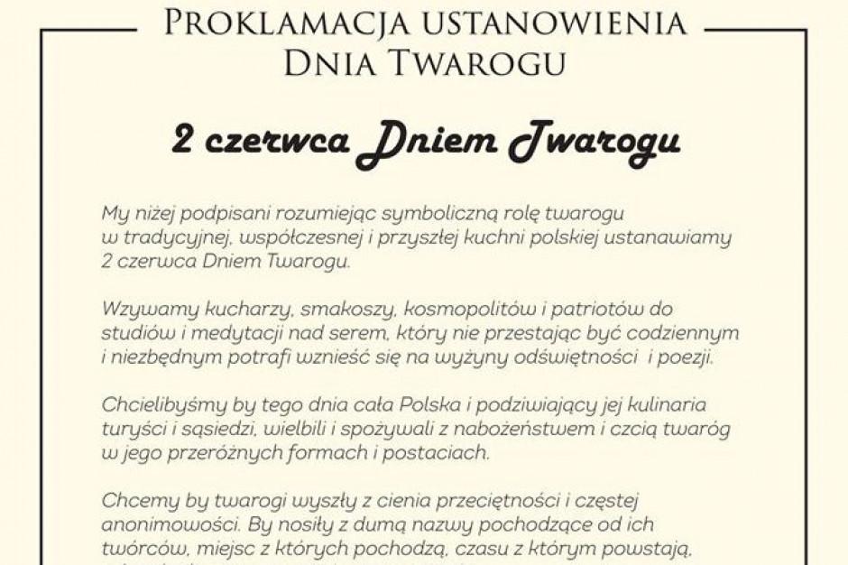 Gieno Mientkiewicz i Zbigniew Kmieć ustanowili 2 czerwca Dniem Twarogu