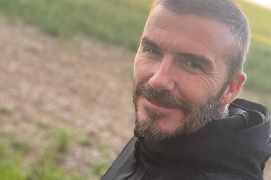 David Beckham ze stadionu do ... kuchni