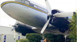 W Tajlandii McDonald's otworzył lokal w starym samolocie