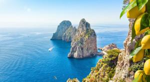 Tłumy turystów na Capri