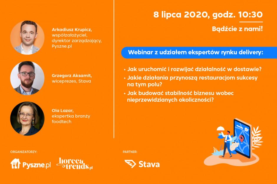 Pyszne.pl i Horecatrends.pl przygotowały webinar nt. skutecznych dostaw (wideo)