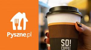 SO! Coffee rozpoczyna współpracę z Pyszne.pl