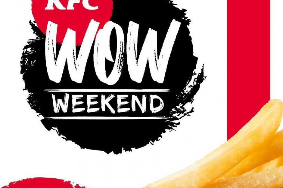 KFC organizuje WOW WEEKEND!