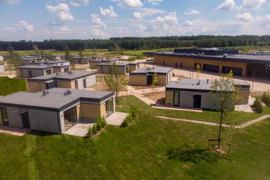 Otwarcie kompleksu bungalowów przy największym parku wodnym w Europie