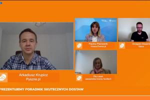 Webinar Pyszne.pl: dostawy to temat, nad którym trzeba cały czas pracować (wideo)