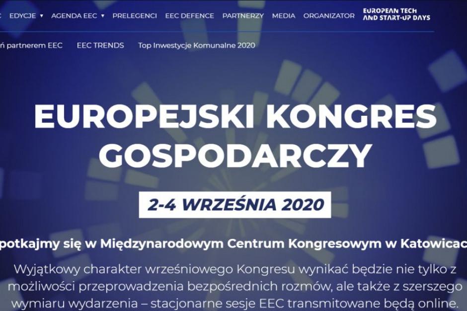 XII Europejski Kongres Gospodarczy 2-4 września 2020 w MCK w Katowicach