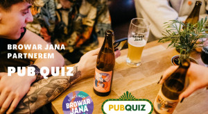 Browar Jana rozpoczyna współpracę z organizatorami Pub Quiz
