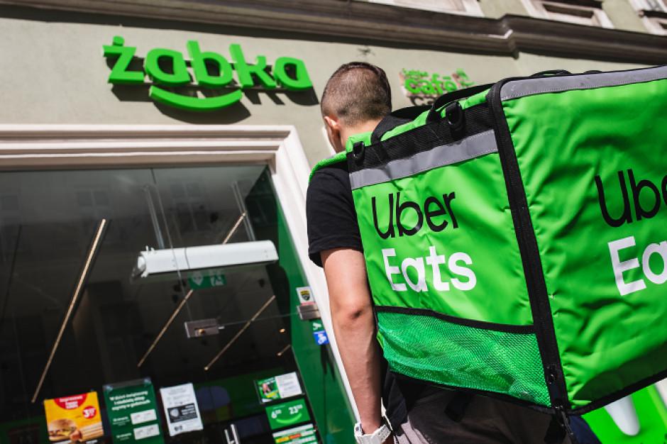 Uber Eats i Żabka łączą siły w Polsce