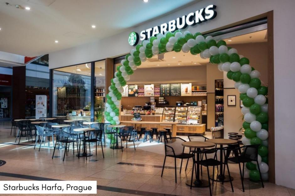 AmRest: ponad 50 kawiarni Starbucks w Czechach