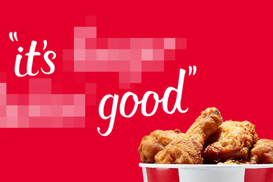 KFC zmienia towarzyszący marce od 64 lat slogan