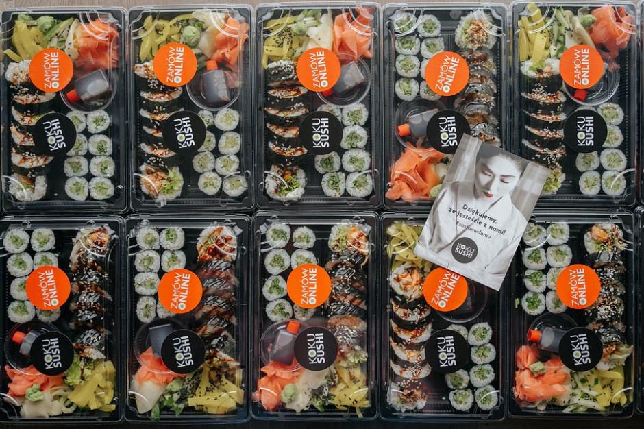 KOKU Sushi: rok 2020 zamkniemy rekordową liczbą podpisanych umów franczyzy