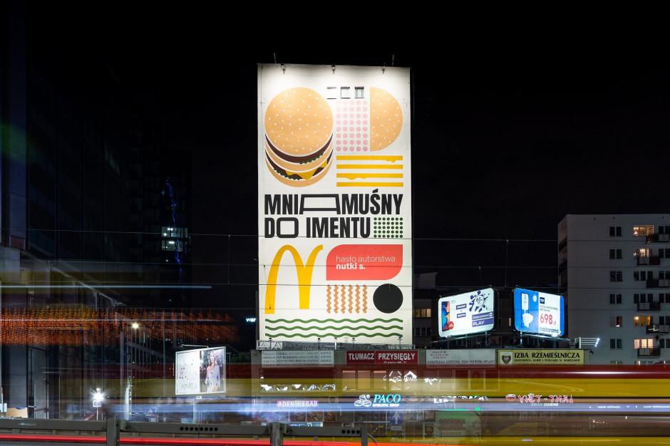 McDonald's wspólnie z fanami stworzył mural w Warszawie