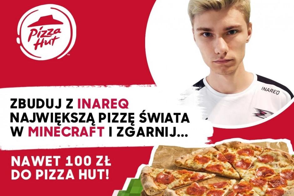 W Światowy Dzień Gier Wideo Pizza Hut zaprasza do budowania największej wirtualnej pizzy świata