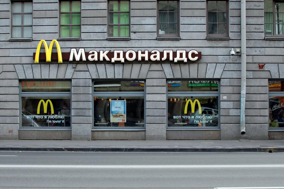 McDonald's otwiera nowe lokale w Rosji