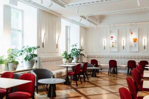Kawiarnia i bar w Nobu Hotel autorstwa pracowni de novo